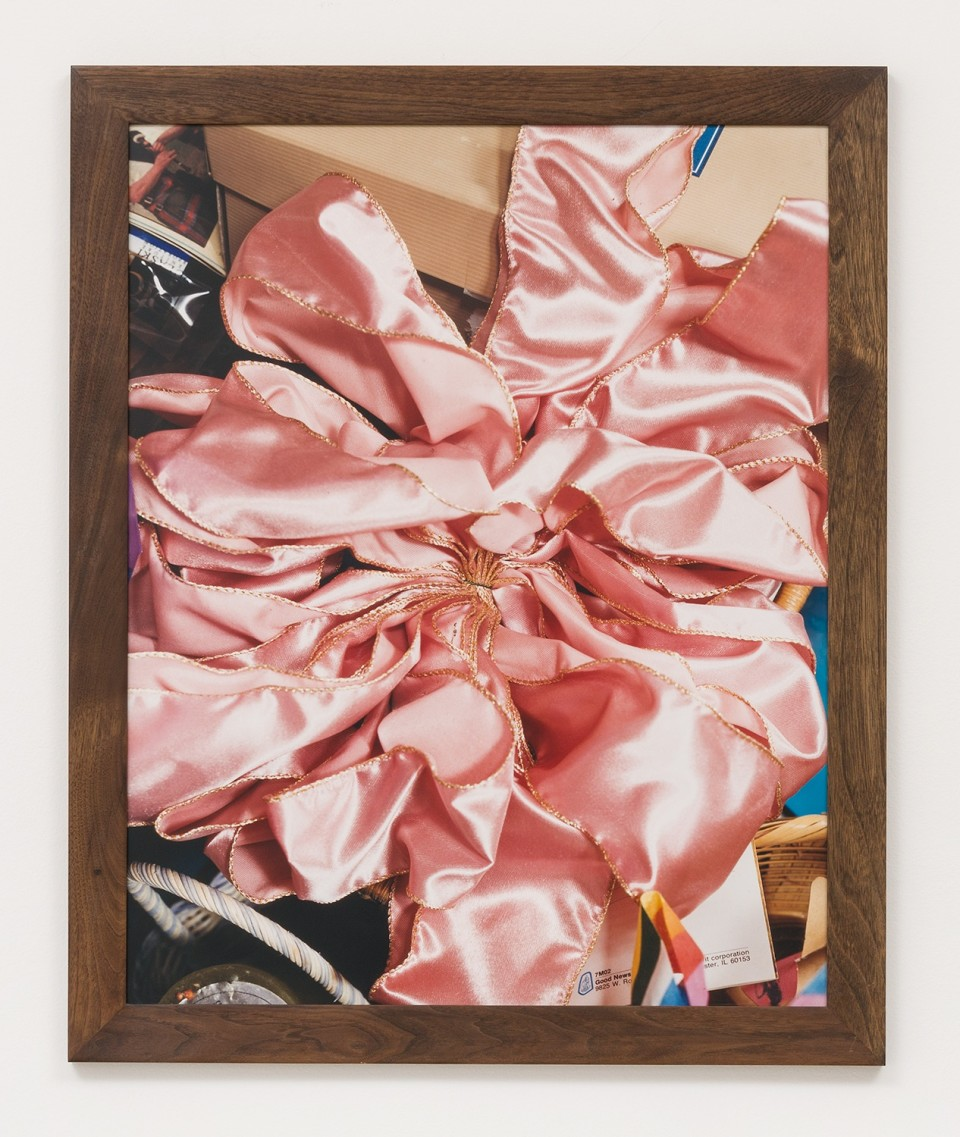 Image: Roe Ethridge  Invited by Matthew Porter  The Pink Bow, 2002  chromogenic print  30 x 24 inches