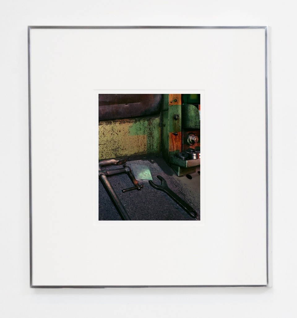 Image: Matthew Porter  Polich Tallix #2, 2015  signed, dated, titled and numbered verso  archival pigment print  image size: 16 x 12-7/8 inches frame size: 33-1/4 x 30-1/4 inches  edition of 4 plus 2 artist's proofs