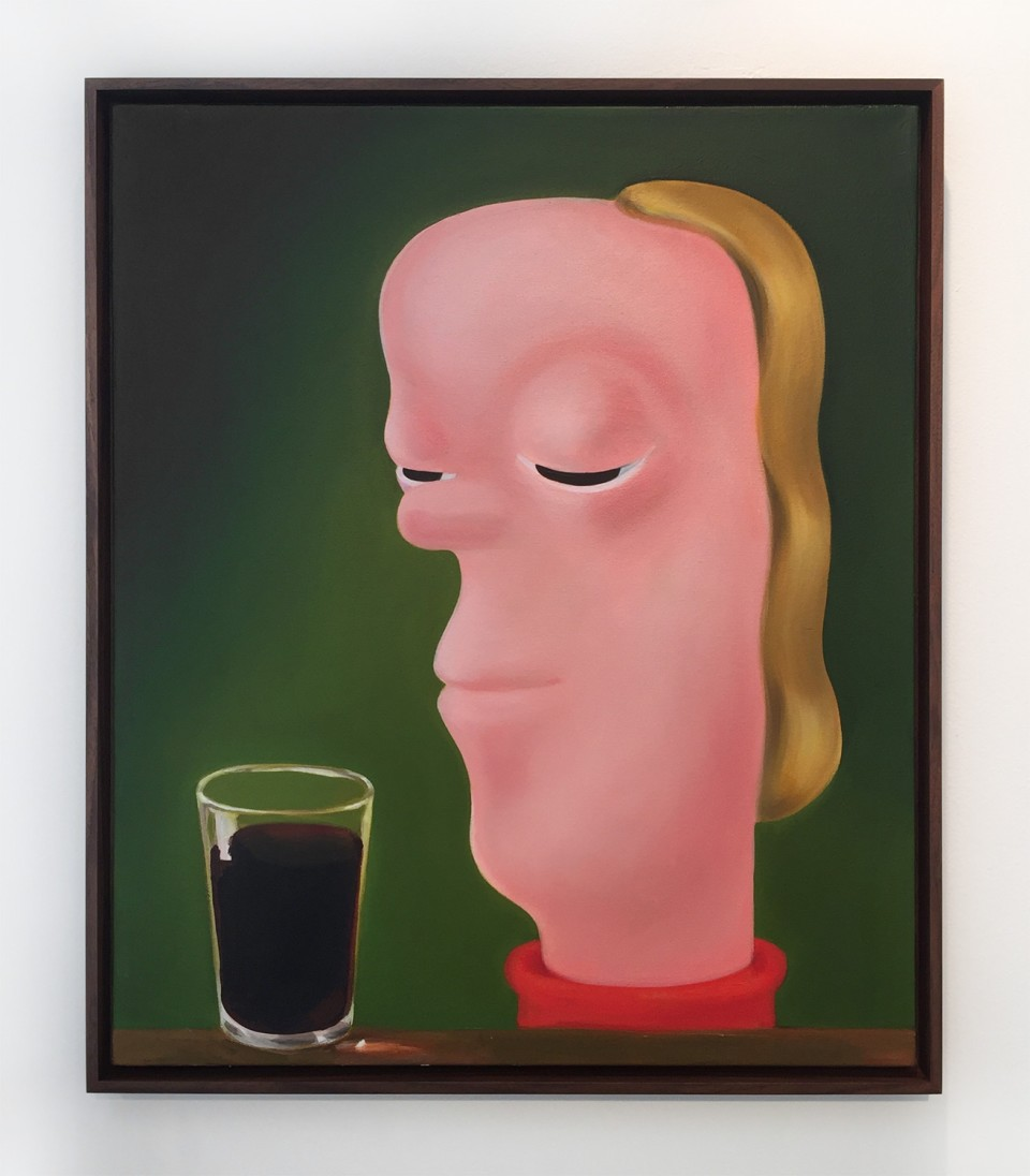Image: Louise Bonnet  The Coke, 2015  oil on canvas  24 x 20 inches  unique