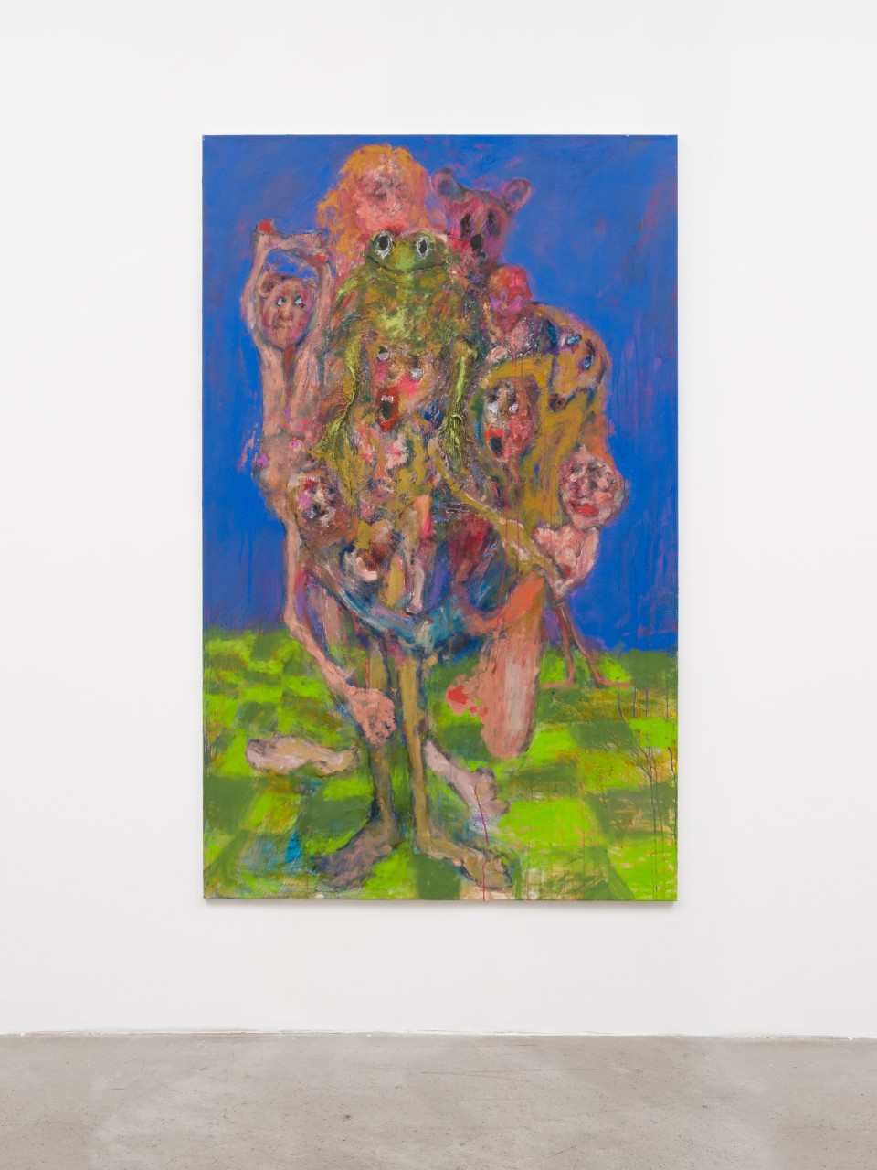 Image: Eva Beresin  Illuminated, 2021  signed, dated and titled verso  oil on canvas  78 1/2 x 49 inches (199.4 x 124.5 cm)  (EBe.21.025.79)