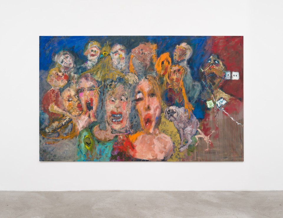 Image: Eva Beresin  Invasive ventilation, 2021  signed, dated and titled verso  oil on canvas  75 x 122 inches (190.5 x 309.9 cm)  (EBe.21.019.79)