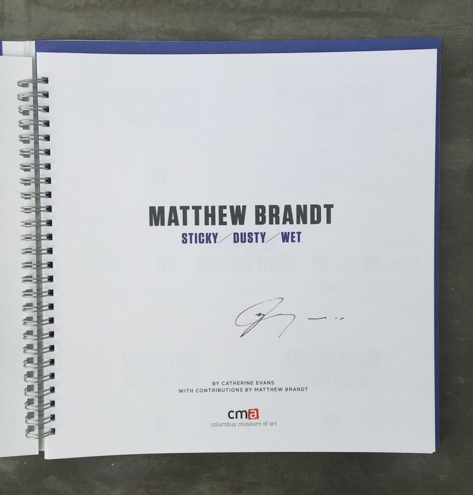 Image: Matthew Brandt Sticky/Dusty/Wet