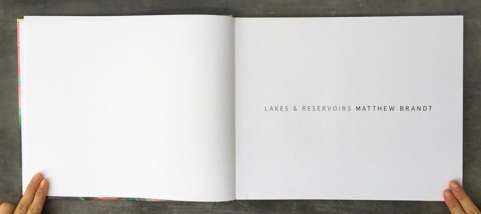 Image: Matthew Brandt Lakes & Reservoirs