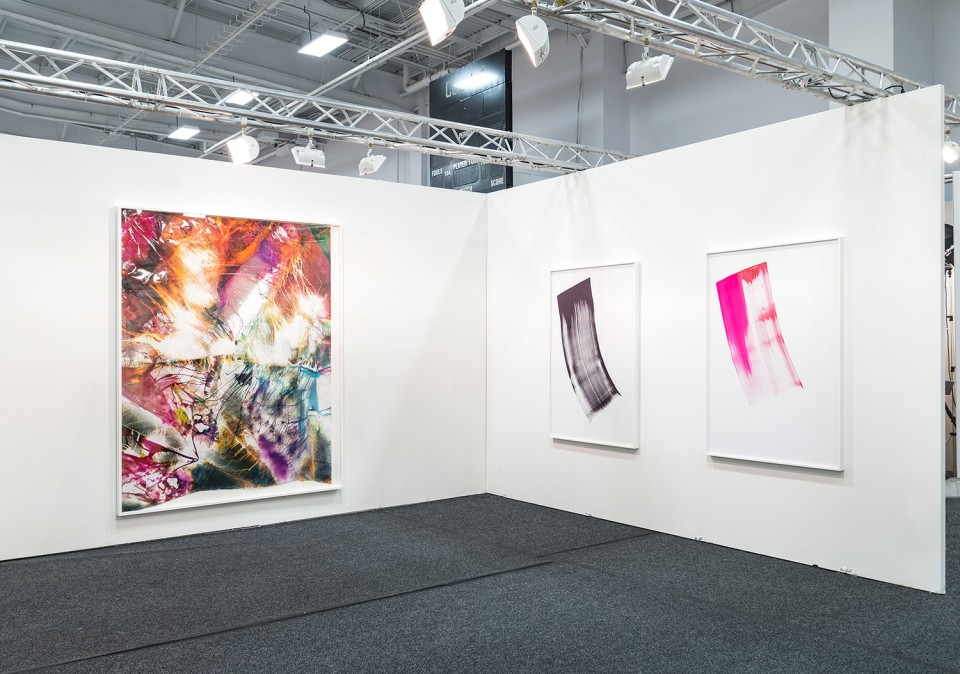 Image: Three-person presentation: Phil Chang, Mariah Robertson and Hannah Whitaker • NADA NY, Booth 2.25 • May 14 - 17, 2015