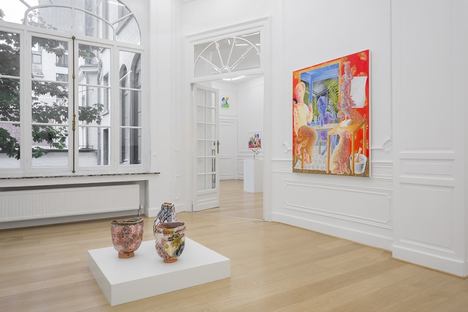 Image: Geranium, curated by Adrianne Rubenstein • Stems Gallery, Brussels, • September 7 - November 4, 2017