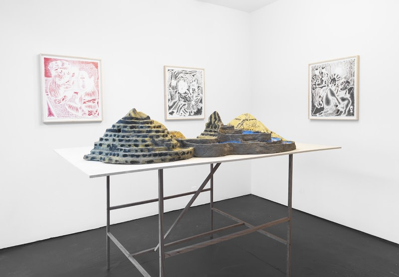 Image: Nothing but Trouble • Josh Mannis and Becky Howland at Know More Games, Brooklyn • October 14 - December 3, 2014