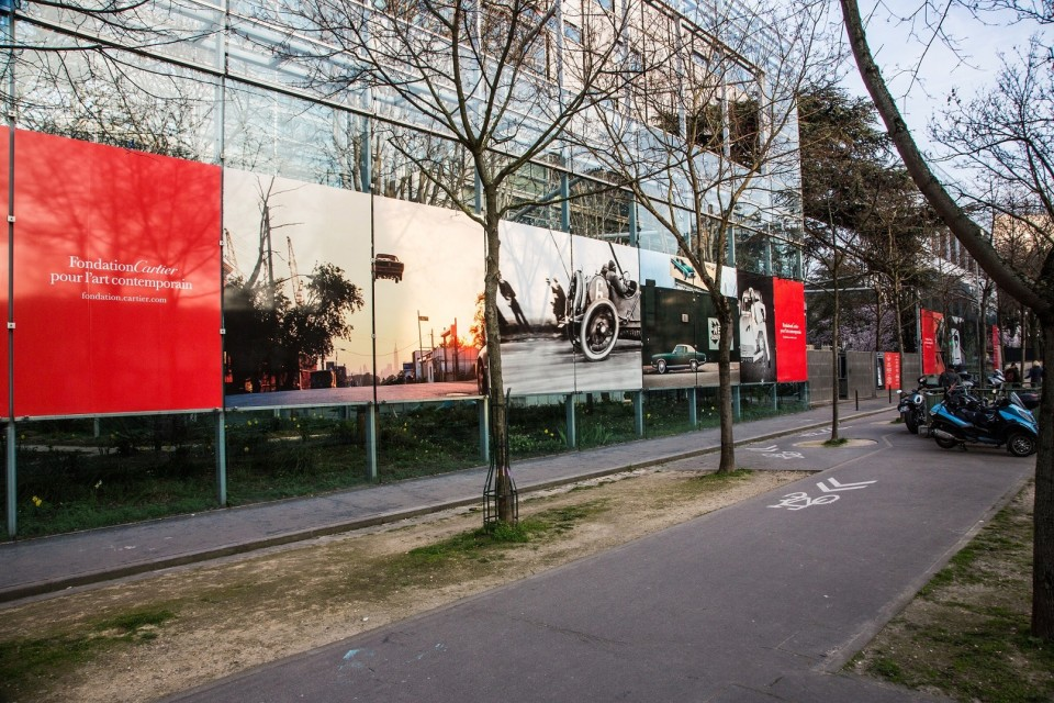 Image: Auto Photo: de 1900 à nos jours • Fondation Cartier pour l'art contemporain, Paris • April 20 - Septemeber 24, 2017