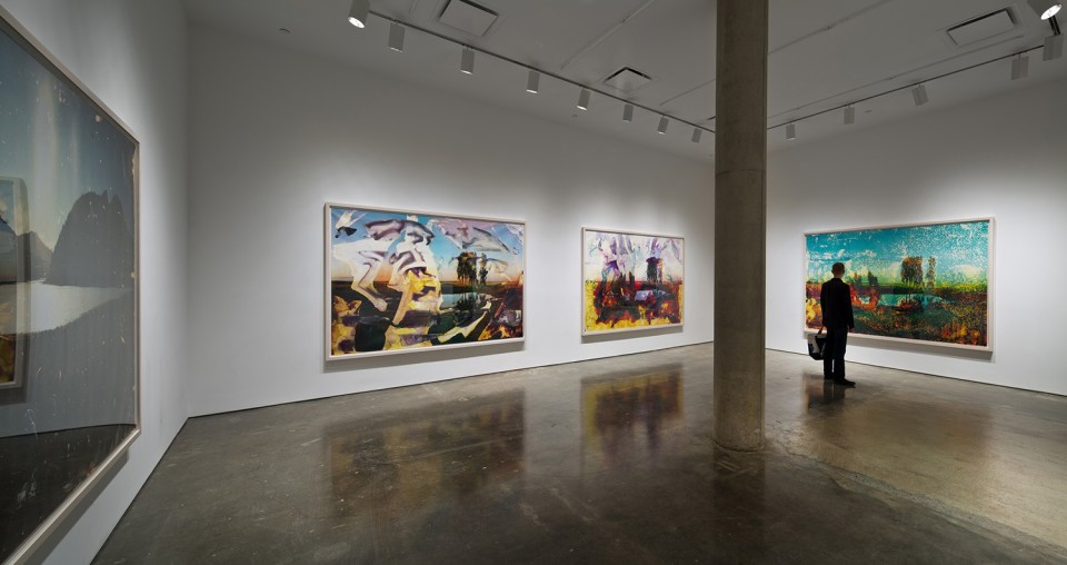 Image: Matthew Brandt: Lakes, trees and honeybees • Yossi Milo, new york • May 24 - July 20, 2012