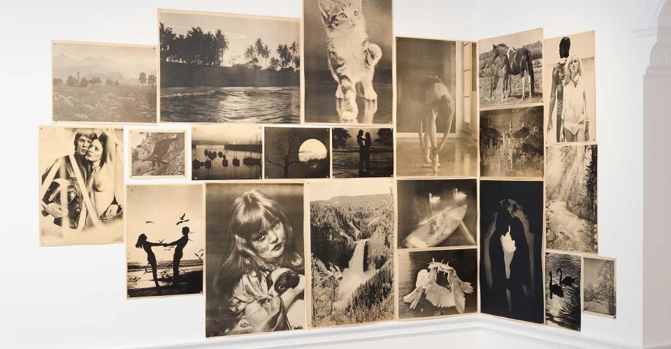 AKTION: Conceptual Art And Photography (1960 - 1980)  13 July - 25 August 2018  Image: Renate Bertlmann, Hommage à Magritte, 1978