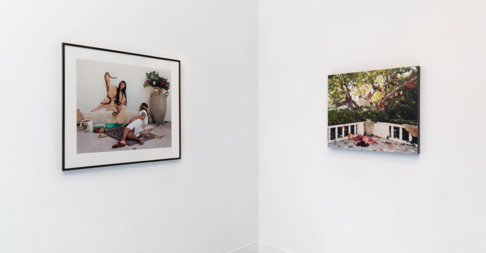 <p>Installation view,&#160;<em>Eleanor Antin: Romans & Kings</em></p><div>Photo by FXP Photography.</div>
