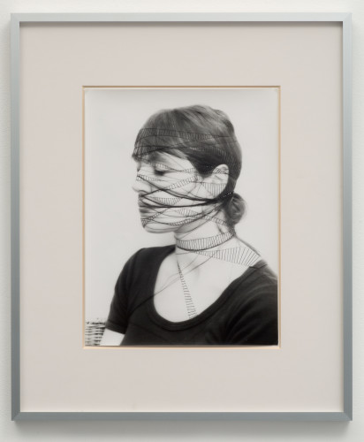 """<div class=&#34;artist&#34;><strong>Annegret SOLTAU</strong></div> 1946 - <div class=&#34;title&#34;><em>Selbst #19 (Self #19)</em>, 1975</div> <div class=&#34;signed_and_dated&#34;>Signed with the artist's monogram """"A.S"""", dated """"75"""" and numbered on reverse</div> <div class=&#34;medium&#34;>Vintage black and white overstitched photograph on Baryte paper</div> <div class=&#34;dimensions&#34;>Framed: 62 x 52 cm<br /> Image size: 39 x 29 cm</div>"""