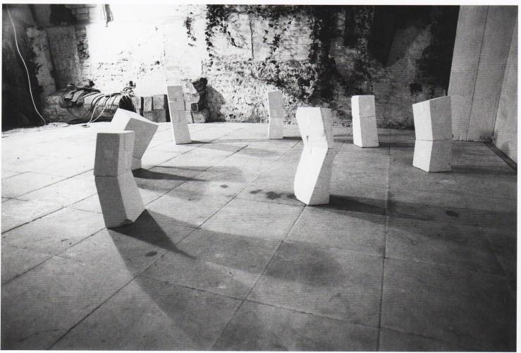 <div class=&#34;artist&#34;><strong>Nicholas POPE</strong></div> 1949- <div class=&#34;title&#34;><em>Seven Odd Chalks</em>, 1978</div> <div class=&#34;medium&#34;>Set of 7 pieces of lump chalk</div> <div class=&#34;dimensions&#34;>Height 70 cm (approx each)</div>