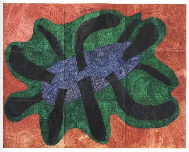 <div class=&#34;artist&#34;><strong>Nicholas POPE</strong></div> 1949- <div class=&#34;title&#34;><em>Flying Sculpture</em>, 1985</div> <div class=&#34;medium&#34;>Biro on paper</div> <div class=&#34;dimensions&#34;>172 x 218 cm</div>