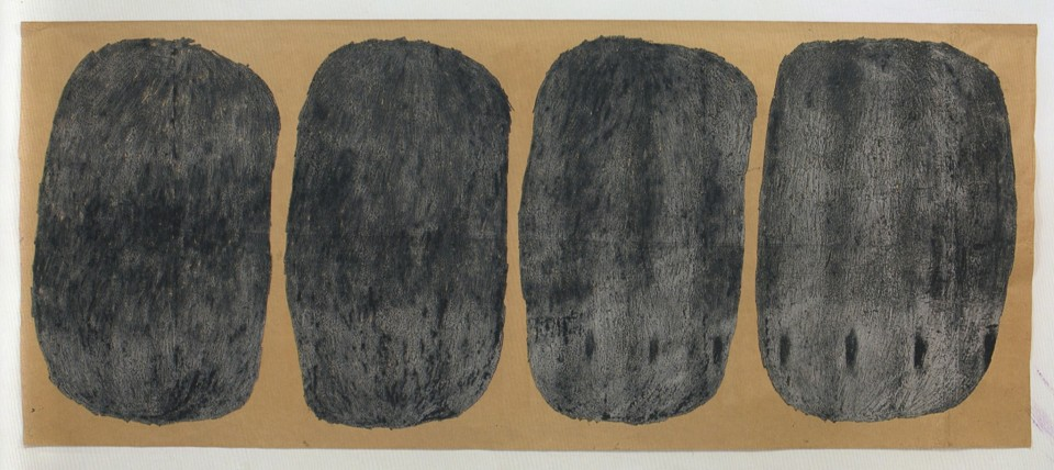 <div class=&#34;artist&#34;><strong>Nicholas POPE</strong></div> 1949- <div class=&#34;title&#34;><em>Black Balls</em>, 1981</div> <div class=&#34;medium&#34;>Oil crayon on paper</div> <div class=&#34;dimensions&#34;>195 x 470 cm</div>