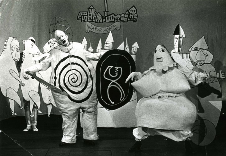 <div class=&#34;artist&#34;><strong>Franciszka THEMERSON</strong></div> 1907-1988 <div class=&#34;title&#34;><em>Kung Ubu by Alfred Jarry at Marionetteteatern, Stockholm</em>, 1964</div> <div class=&#34;medium&#34;>video - 70 minutes</div>