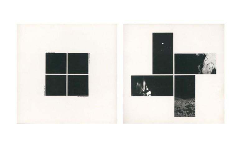 <div class=&#34;artist&#34;><strong>John HILLIARD</strong></div> 1945 -<div class=&#34;title&#34;><em>Black Depths (1)</em>, 1974</div><div class=&#34;medium&#34;>Black and white print and Letraset on museum board</div><div class=&#34;dimensions&#34;>2 parts. 72 x 72 cm each</div><div class=&#34;edition_details&#34;>1/2</div>