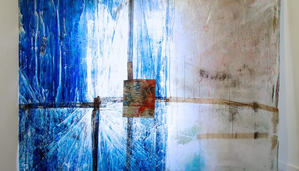 Hugo Canoilas  Untitled, 2012  Ink on Plastic  285 x 240 cm 112 1/4 x 94 1/2 in