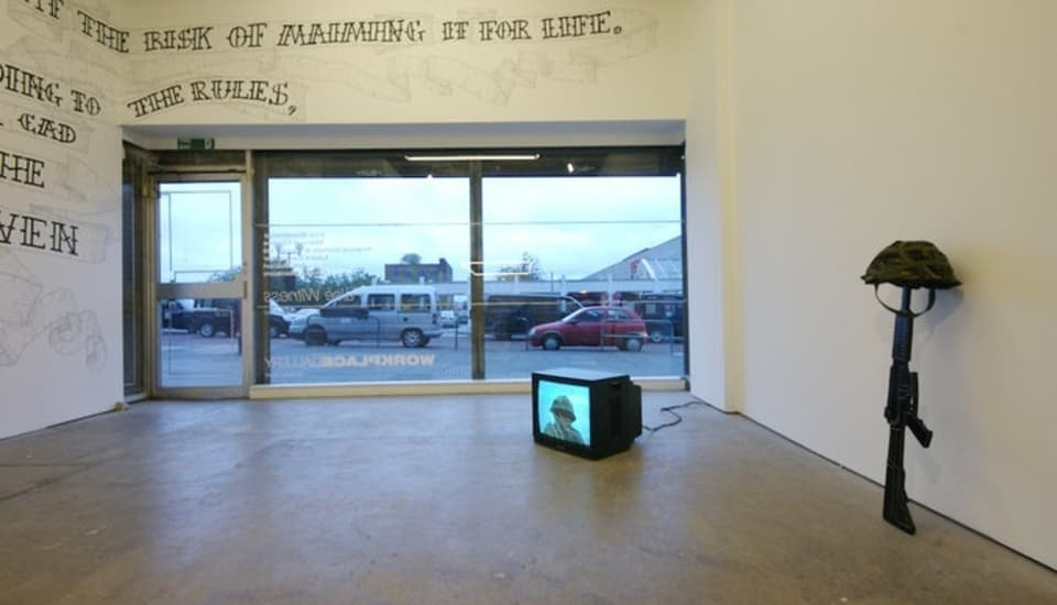False Witness, Installation view, 2007.