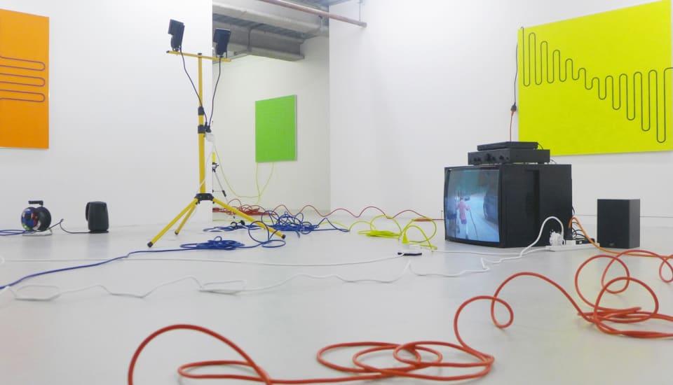 Jacob Dahlgren, Third Uncle, 2015. Installation View.