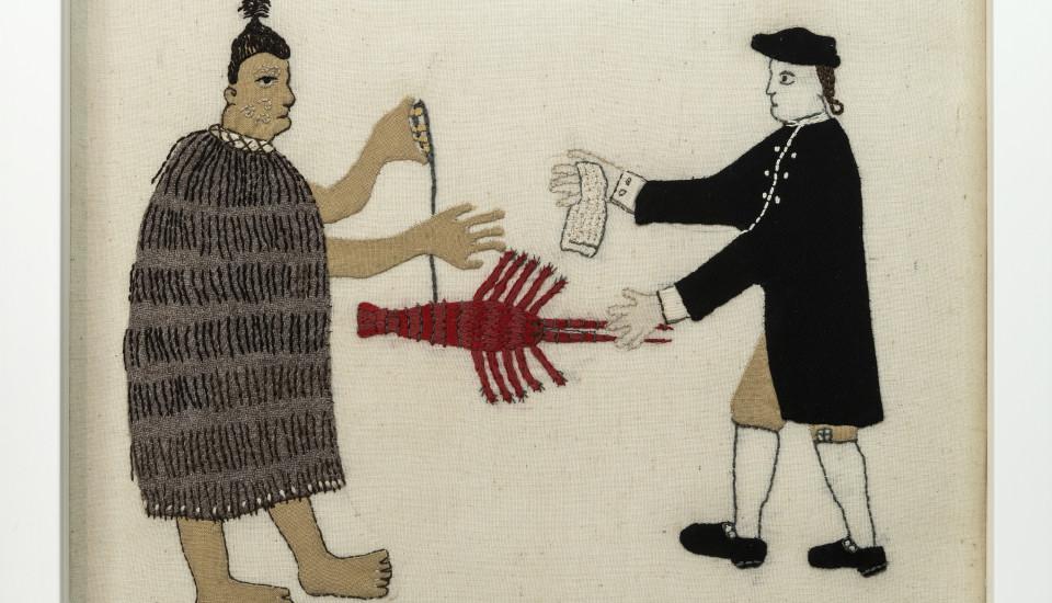 Trade Item - Fabric Tapa Crayfish