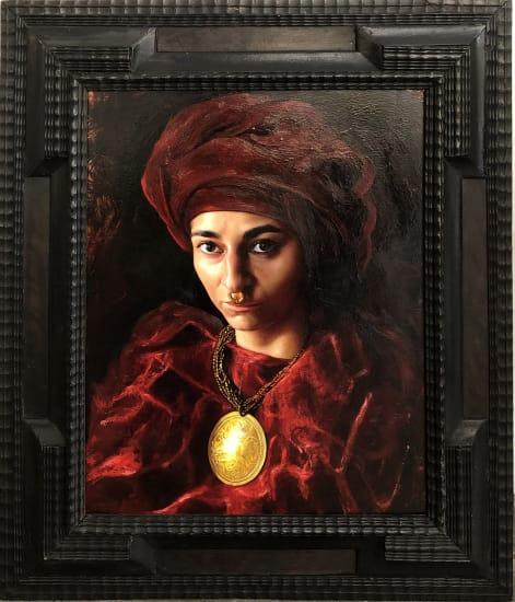 David NICHOLSON, Kurdish girl, 2021