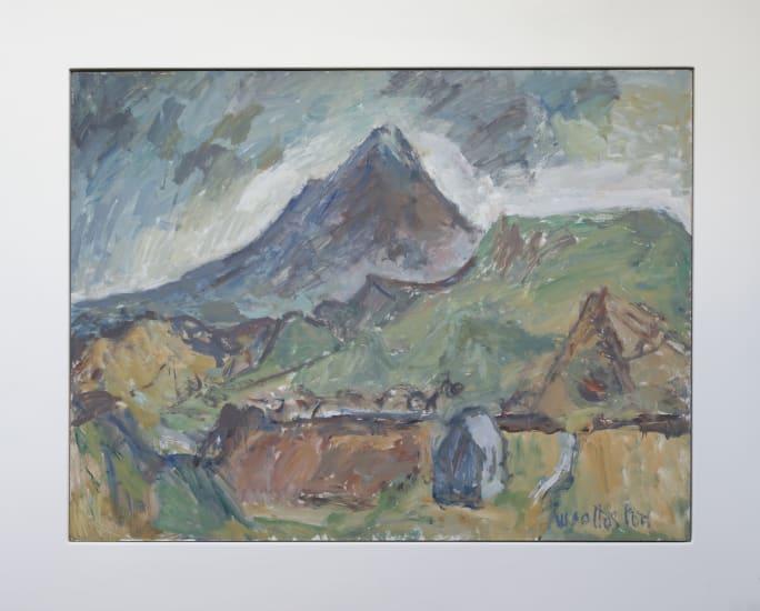 Mountford Tosswill Woollaston Mt Egmont, 1964 Oil on board 920mm x 1215mm