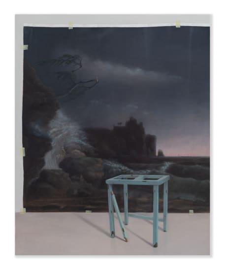 Emily Wolfe Observation, 2020 Oil on linen 800mm x 1000mm