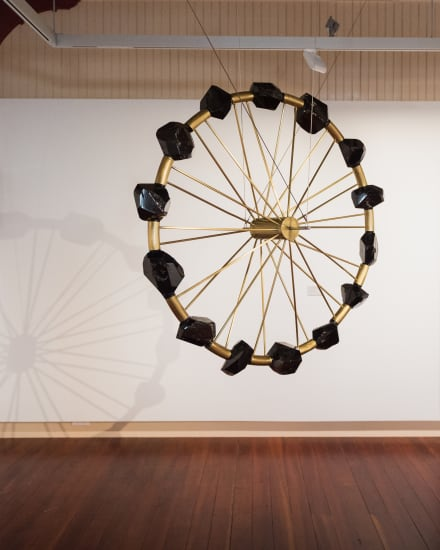 Andrew Drummond, [Suspended] Coal Wheel, 1997-1998