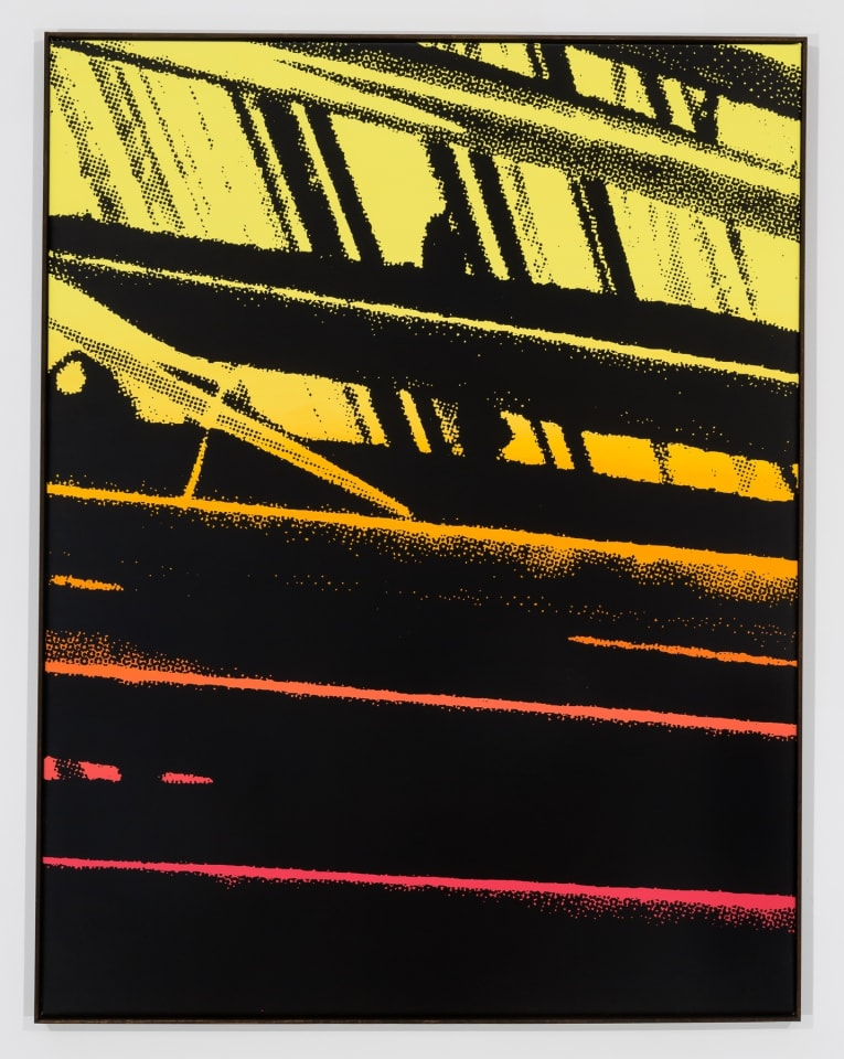 Hector Arce-Espasas, SHADOW PALMS (fade sunset), 2016