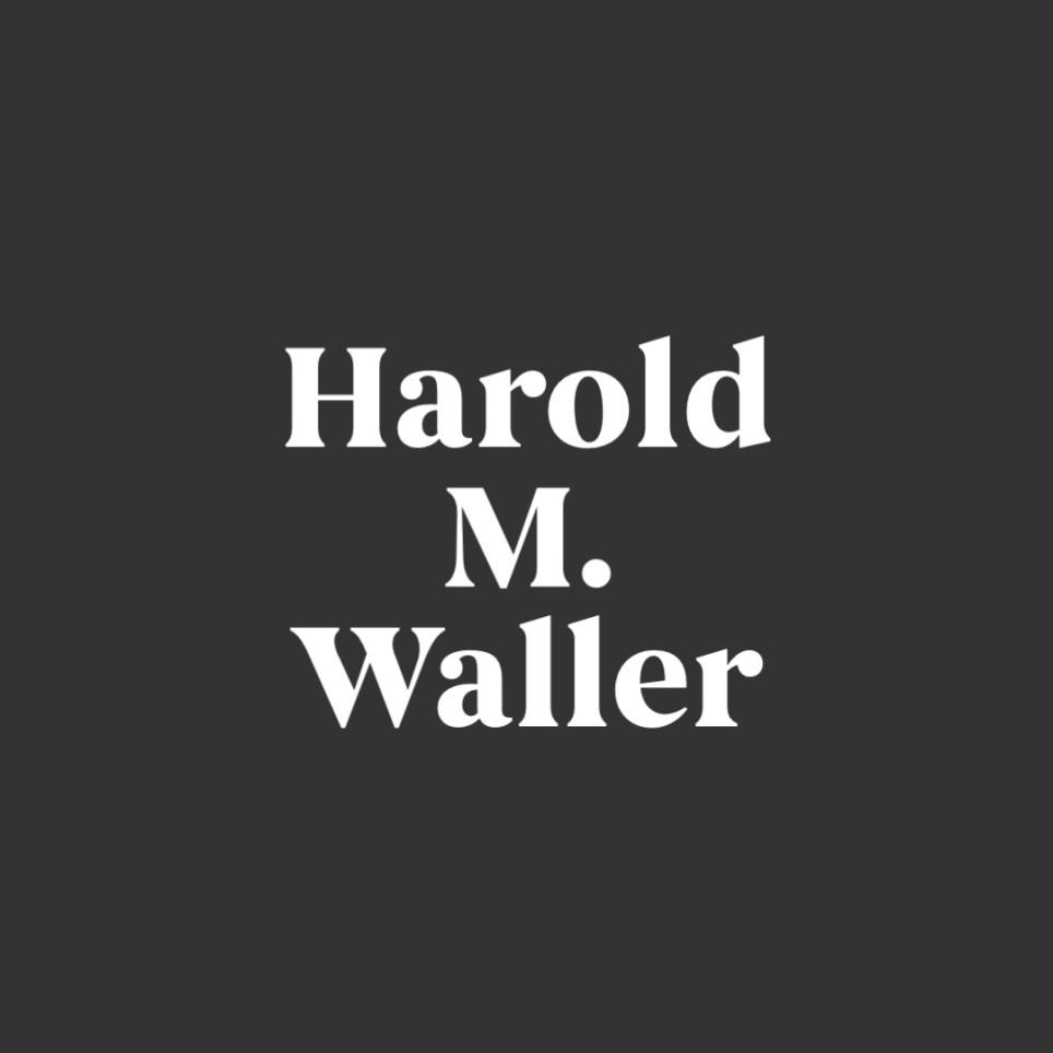 Harold M. Waller