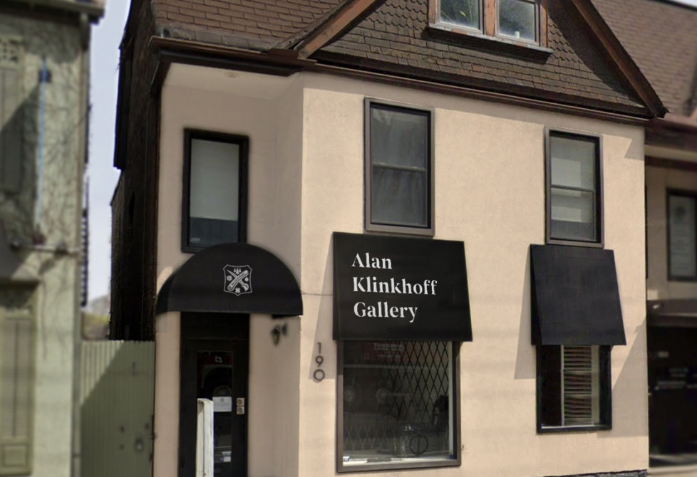 190 Davenport Road, Toronto, the future location of Alan Klinkhoff Gallery in Fall 2019.