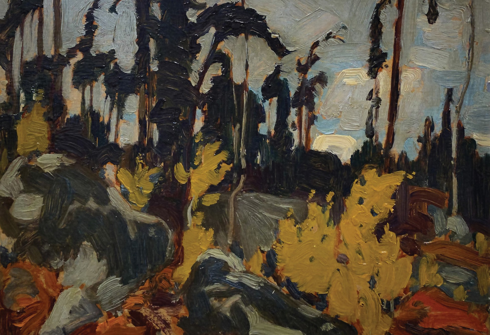 J.E.H. MacDonald 1873-1932 Rocky Woods, Algoma, 1919