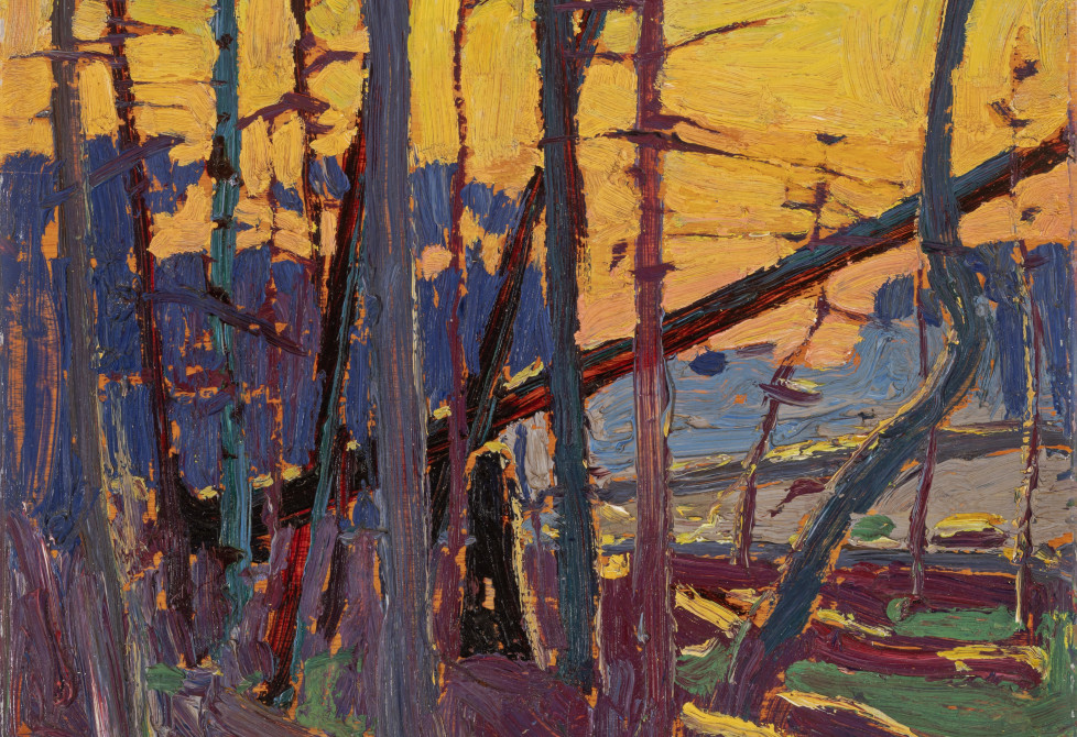 Tom Thomson, Algonquin Evening, 1915