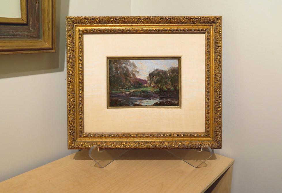 Une pochade de Clarence Gagnon récemment acquise a servi d'étude pour un tableau de la collection du Musée national des beaux-arts du Québec