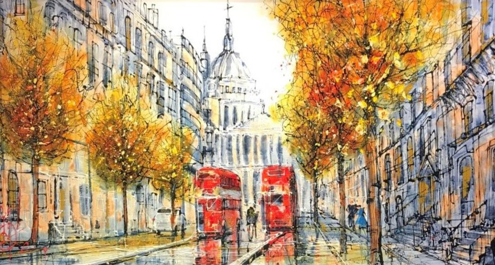 NEW NIGEL COOKE ORIGINALS - THERE'S NOWHERE ELSE LIKE LONDON