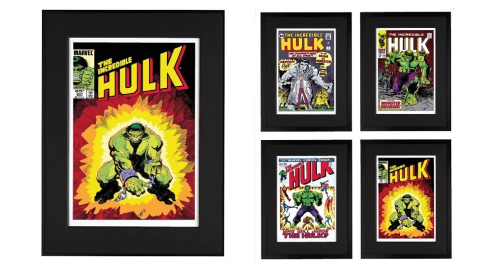 Marvel Limited editions - Signed By Stan Lee