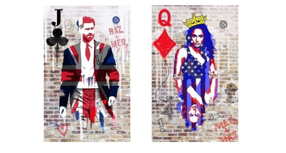 Lets Celebrate | Hand Embellished Limited Editions | Royal Flushed By Dan Pearce
