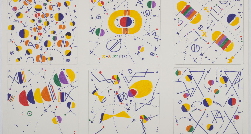EXHIBITION - VICTOR MAGARIÑOS D: WORKS ON PAPER FROM THE 1950S TO THE 1990S 23 FEBRUARY - 12 APRIL 2019