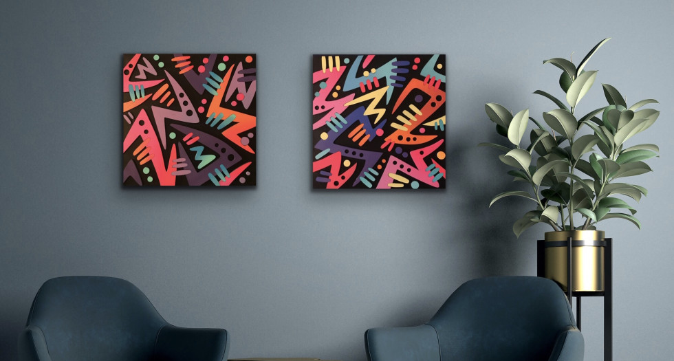 Arthur Rambo's Colourful 3D Abstracts