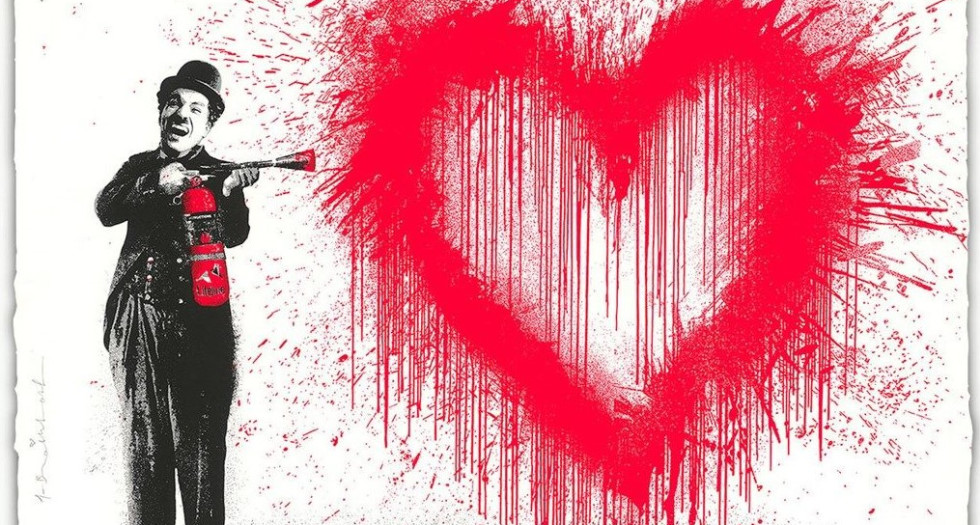 NEW ARRIVAL - MR BRAINWASH - NOW IN THE GALLERY