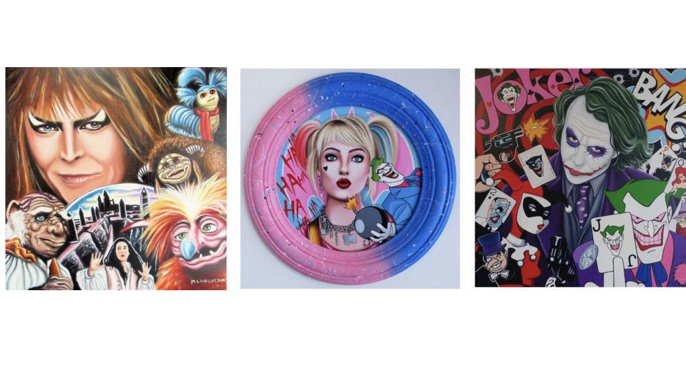NEW ORIGINALS & HAND EMBELLISHED EDITIONS FROM MARIE LOUISE WRIGHTSON