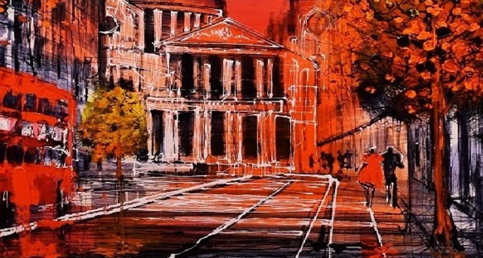 Scarlet City By Nigel Cooke