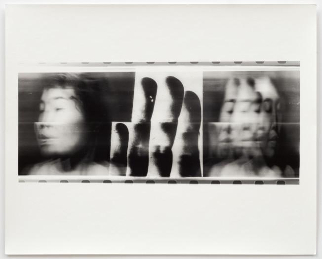 Paolo Gioli, Volto Attraverso Le Proprie Mani - Fotofinish Tokyo, 1996