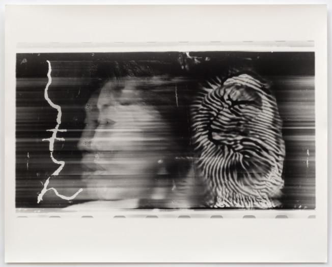 Paolo Gioli, Volto Attraverso La Propria Impronta - Fotofinish Tokyo, 1996
