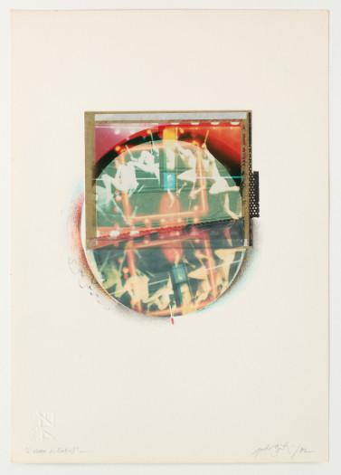 Paolo Gioli, Eakins/Marey L'uomo scomposto, 1982