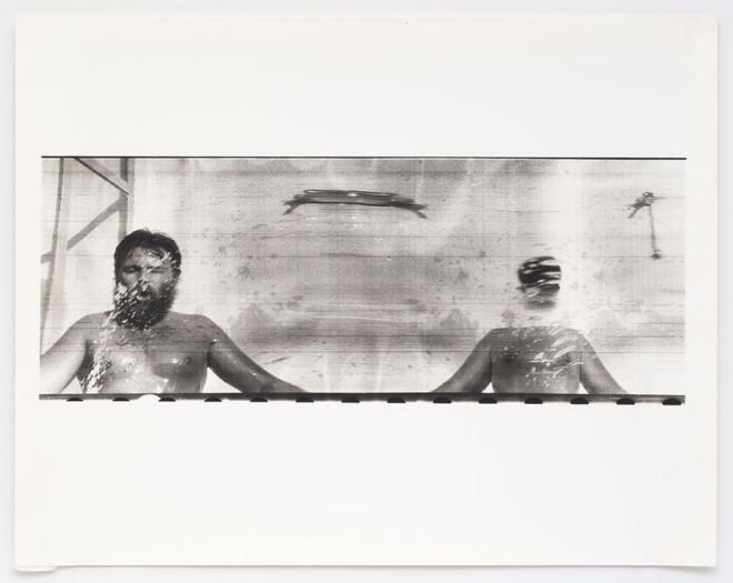 Paolo Gioli, Fotofinish / Purché l'immagine non colpisca l'occhio, 1974