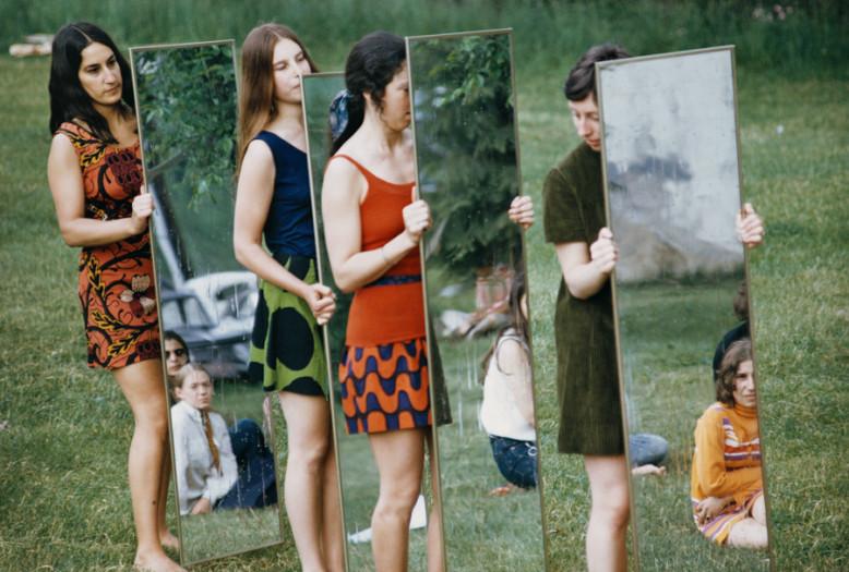Joan Jonas, Mirror performance III, 1969