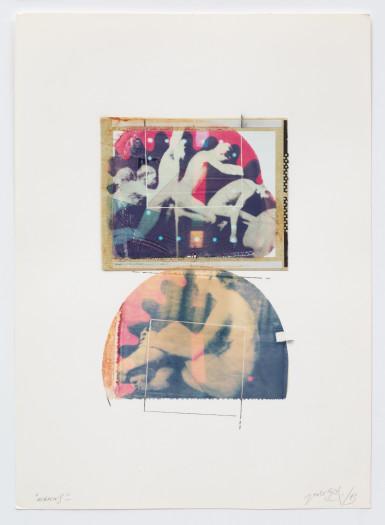 Paolo Gioli, Eakins/Marey L'uomo scomposto, 1983