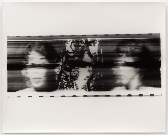 Paolo Gioli, Volto Attraverso Albero - Fotofinish Tokyo, 1996