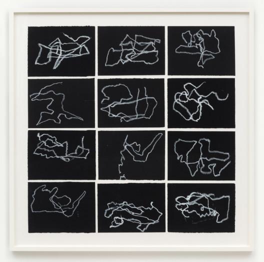 Joan Jonas, Reanimation performance drawings (Landscape Drawings), 2016